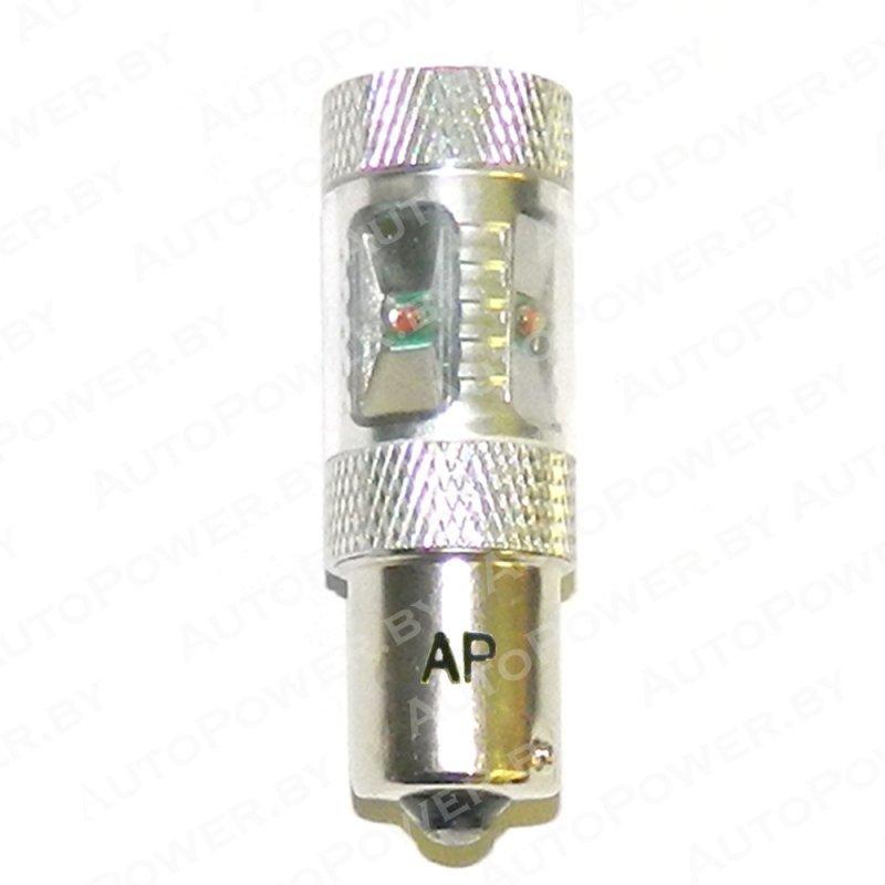 Светодиод P21W (S25, BAU15S) - CREE - 30W - YELLOW