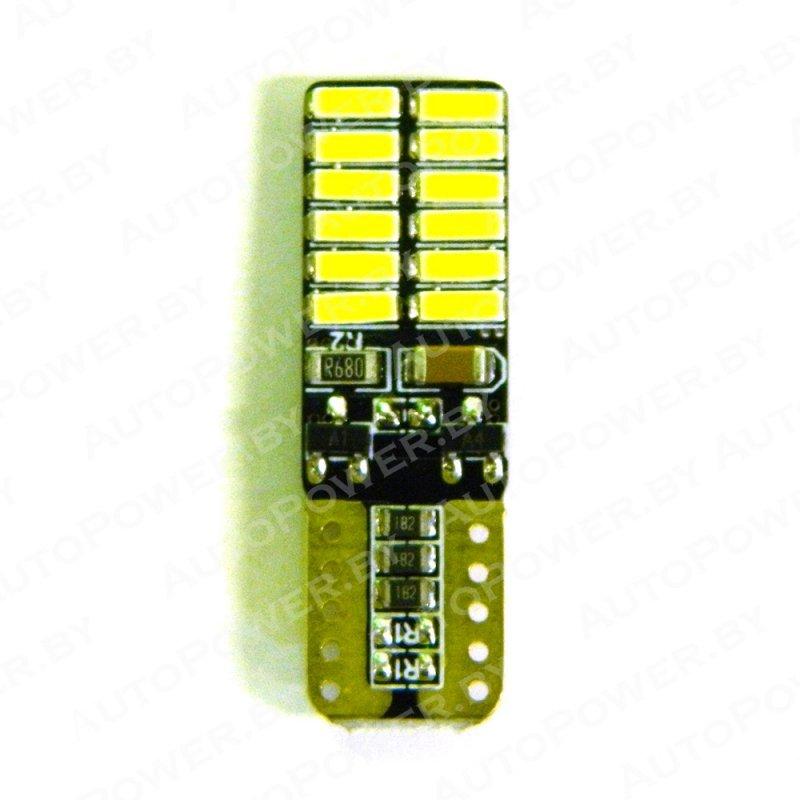 Светодиод T10-24-4014-12V-W-CAN