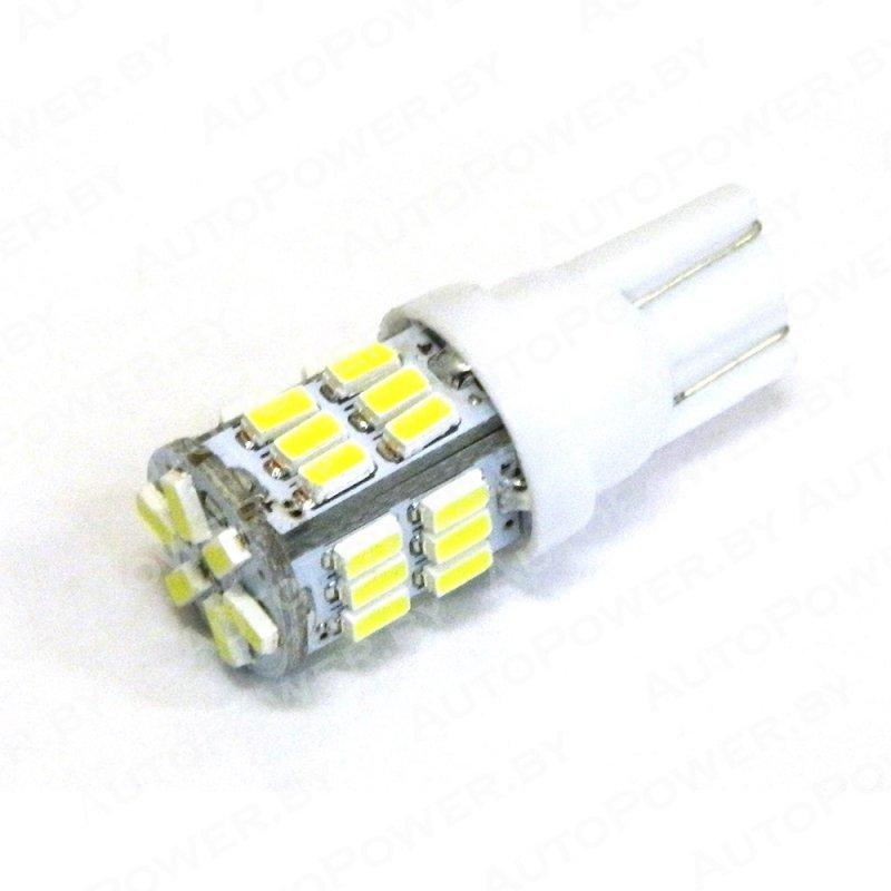 Светодиод T10-30-3014-12V-W