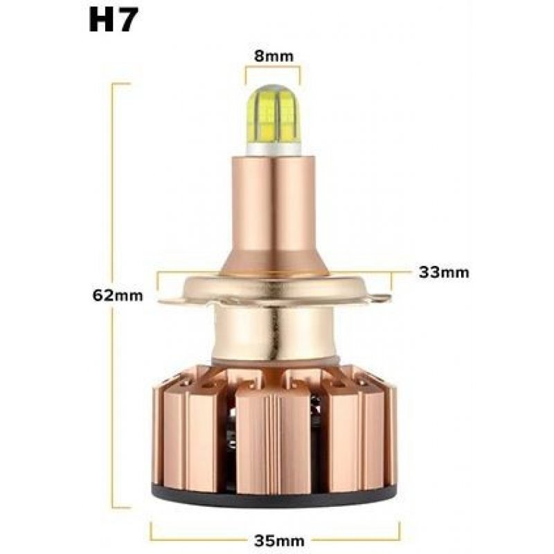 Светодиодные лампы U6 multiCOB c яркими светодиодами