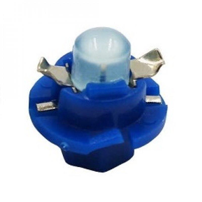 Светодиод для приборной панели B8.4 COB Синий 01514RA