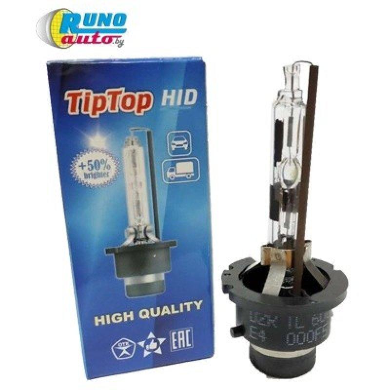 Лампа ксеноновая газоразрядная D4R TipTop 4300K. Гарантия 12 месяцев.