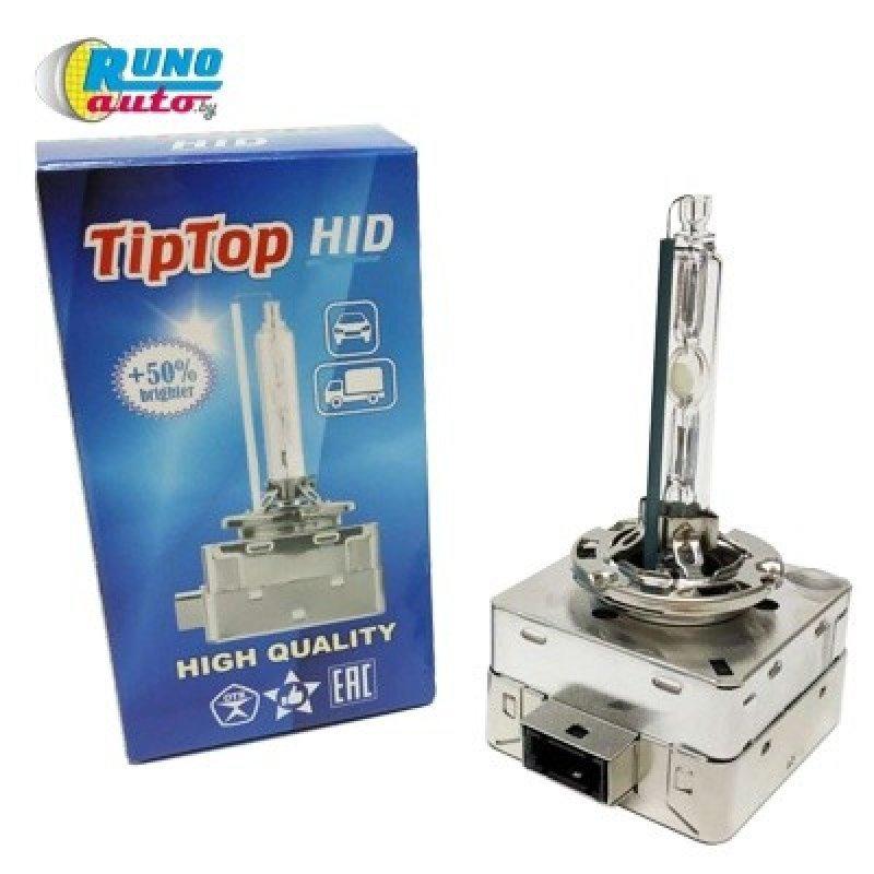 Лампа ксеноновая газоразрядная D3S TipTop 4300K. Гарантия 12 месяцев. Сертификат РБ.